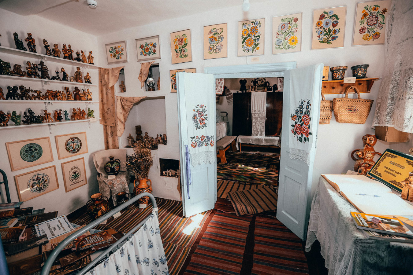 Меморіальний музей-садиба славетної гончарки Олександри Селюченко