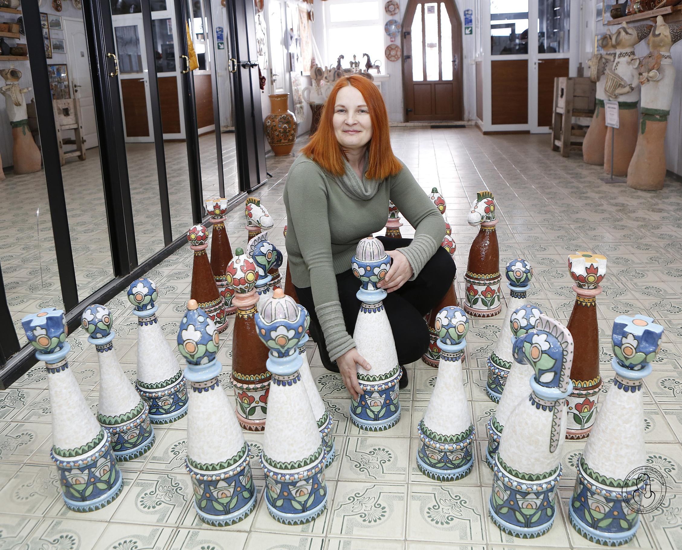 Зінаїда БЛИЗНЮК: «Усі, хто бачив мої шахи, кажуть, що вони українські»